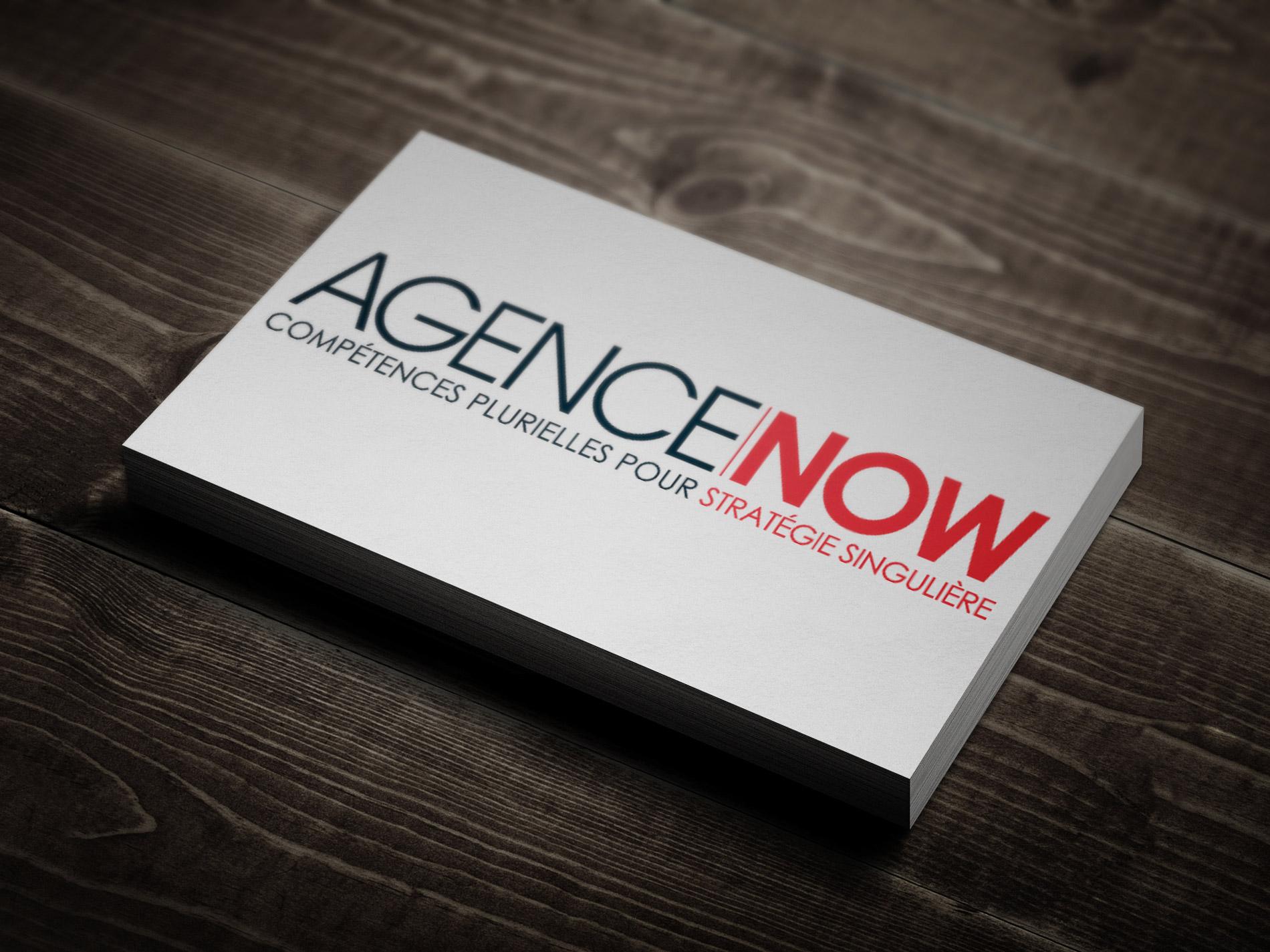 Signature pour l'Agence NOW